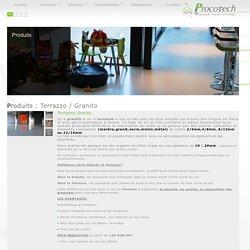 Terrazzo / Granito - Le « granito » ou « terrazzo » est un