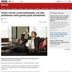 Como vencer a procrastinação, um dos problemas mais graves para estudantes - BBC Brasil