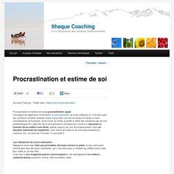 Procrastination et estime de soi