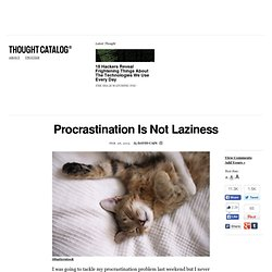 how to end laziness and procrastination
