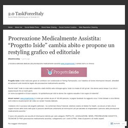 """Procreazione Medicalmente Assistita: """"Progetto Iside"""" cambia abito e propone un restyling grafico ed editoriale"""