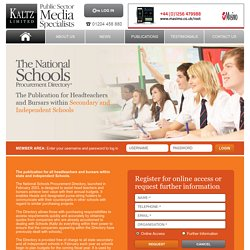 Schools Suppliers Database - Kaltz