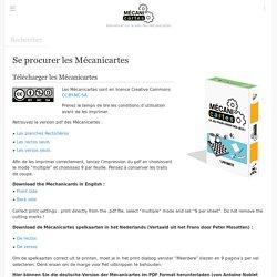 Se procurer les Mécanicartes - Mecanicartes Wiki
