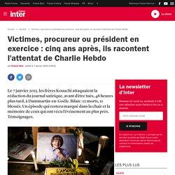 Victimes, procureur ou président en exercice: cinq ans après, ils racontent l'attentat de Charlie Hebdo