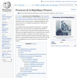 Procureur de la République (France)