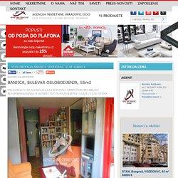 STAN Prodaja BANJICA, VOZDOVAC, 55 m2, 65000 e