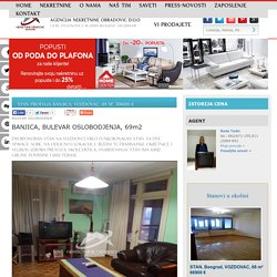 STAN Prodaja BANJICA, VOZDOVAC, 69 m2, 70000 e