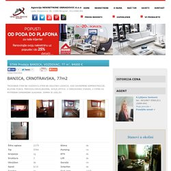 STAN Prodaja BANJICA, VOZDOVAC, 77 m2, 84000 e