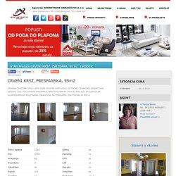 STAN Prodaja CRVENI KRST, ZVEZDARA, 95 m2, 150000 e