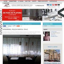 STAN Prodaja KONJARNIK, VOZDOVAC, 55 m2, 61000 e