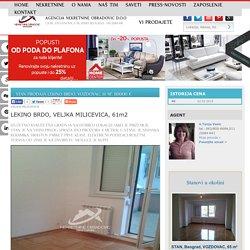 STAN Prodaja LEKINO BRDO, VOZDOVAC, 61 m2, 110000 e