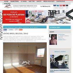 STAN Prodaja LEKINO BRDO, VOZDOVAC, 58 m2, 93500 e