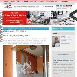 STAN Prodaja LIPOV LAD, ZVEZDARA, 78 m2, 108000 e
