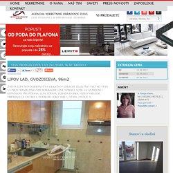 STAN Prodaja LIPOV LAD, ZVEZDARA, 96 m2, 160000 e