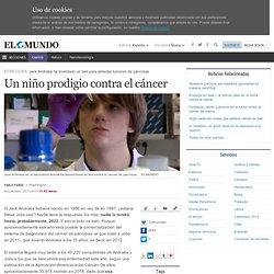 Article: Un niño prodigio contra el cáncer