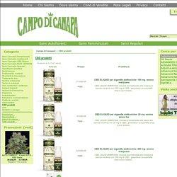 CBD prodotti : Campo di Canapa, Semi di Marijuana da collezione e Prodotti di canapa - Firenze -, Il sito della canapa e dei suoi derivati.