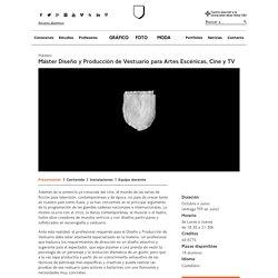 Diseño/Producción de Vestuario para Artes Escénicas - IDEP Idep