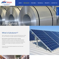 Producers of Galvalume® Steel Sheets in India