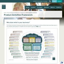 Product Activities Framework