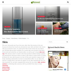 Skin Care Product Analysis