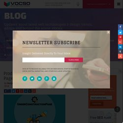 Product Review of Under Construction Page WordPress Plugin - VOCSO