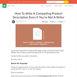 How to Write a Product Description For Digital Product
