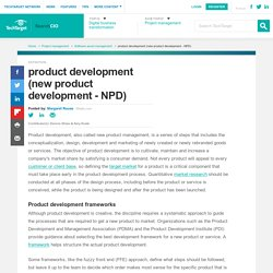 What is product development (new product development - NPD)? - Definition from WhatIs.com