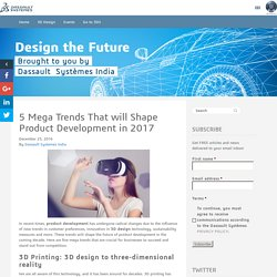 Product Development and Future of 3D Design, 3D Printing