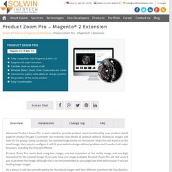 Product Zoom Pro - Magento 2 Extension - Solwin Infotech