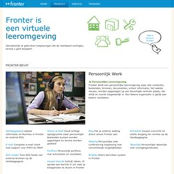 Product - Fronter Benelux