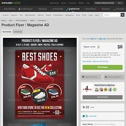 Product Flyer / Magazine AD