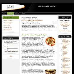 Product Portolio Management
