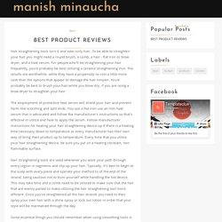 Best Product Reviews - Manish Minaucha