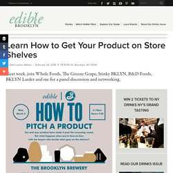 Learn How to Get Your Product on Store Shelves