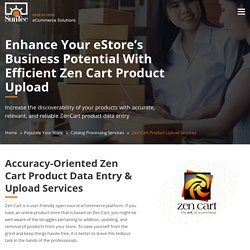 OpenCart Data Upload Services
