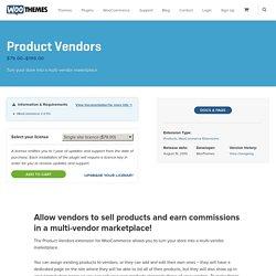 Product Vendors