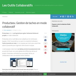 Producteev. Gestion de tâches en mode collaboratif