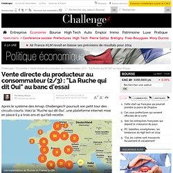 """Vente directe du producteur au consommateur (2/3) : """"La Ruche qui dit Oui"""" au banc d'essai - 2 septembre 2013"""