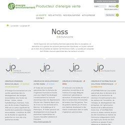 JPEE - Producteur d'énergie verte - Le groupe JP