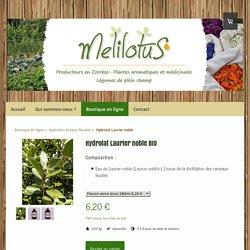 Hydrolat Laurier noble - Producteurs de plantes aromatiques et médicinales en Corrèze