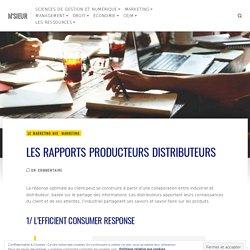 (Dont vidéo) Les rapports producteurs distributeurs – M'SIEUR
