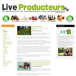 Producteurs de légumes en Pays-de-la-Loire
