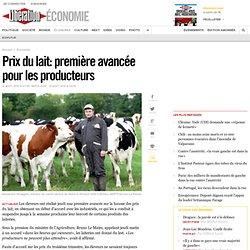 Prix du lait: l'ultimatum des éleveurs expire aujourd'hui