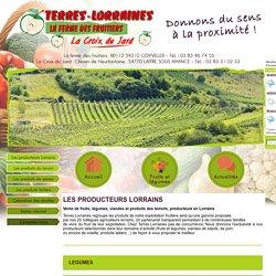 Les producteurs Lorrains Terres Lorraines - La ferme des fruitiers