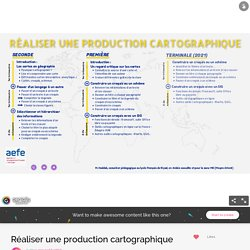Réaliser une production cartographique by mourad.haddak on Genially