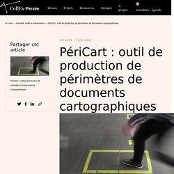 PériCart : outil de production de périmètres de documents cartographiques < CollEx - Persée