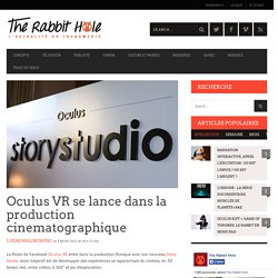 Oculus VR se lance dans la production cinematographique