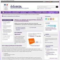 Production et diffusion de ressources numériques - SIALLE, une sélection de logiciels libres destinés à la communauté éducative