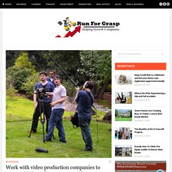 Work with video production companies to create a high quality corporate video