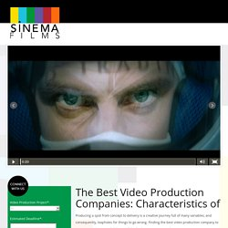 Best Video Production Companies